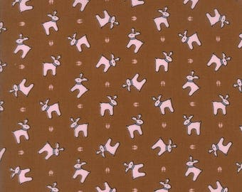 Sugar Plum Christmas Gingerbread designed by Bunny Hill Designs for Moda Fabrics, 100% Premium Cotton by the Yard