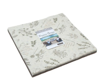 """Prairie Grass Layer Cake (42 - 10"""" x 10"""" Squares) designed by Holly Taylor for Moda Fabrics"""