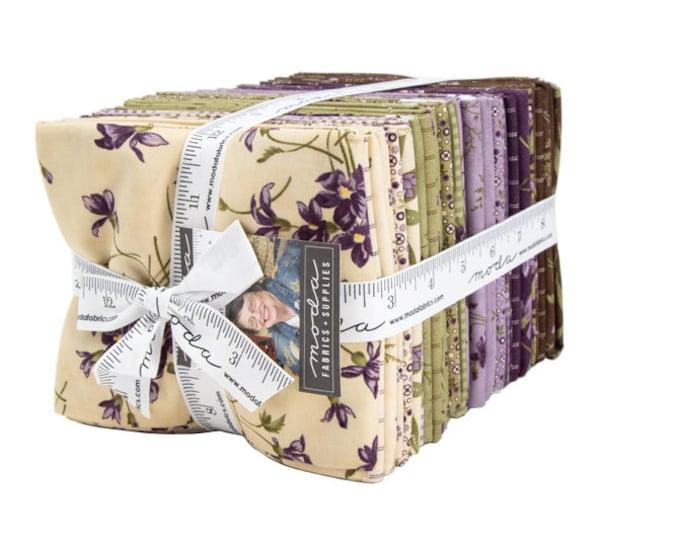 Sweet Violet 36 Fat Quarter Bundle designed by Jan Patek Quilts for Moda Fabrics