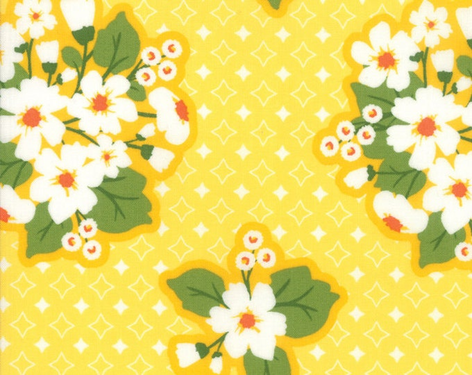 All Weather Friend Sunshine designed by April Rosenthal of Prairie Grass Patterns for Moda Fabrics, 100% Premium Cotton by the Yard