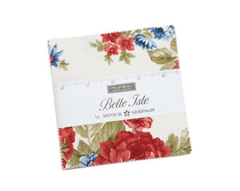 """Belle Isle Charm Packs (40 - 5"""" x 5"""" Squares) designed by Minick & Simpson"""