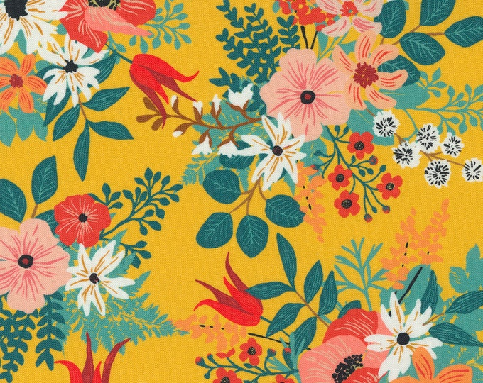 Lady Bird Saffron (11870 17) designed by Crystal Manning