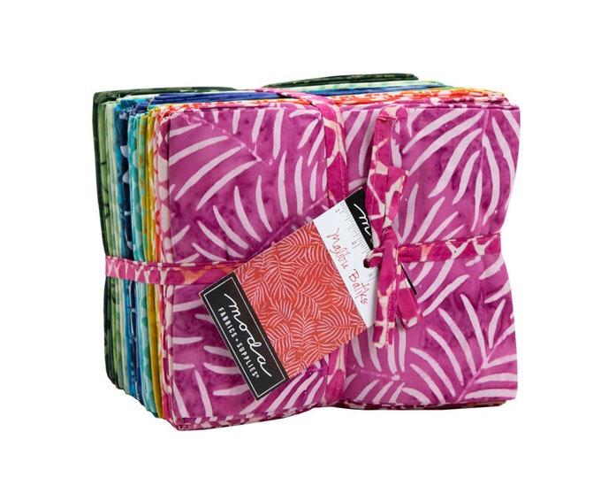 Malibu Batiks Fat Quarter bundle 30skus, designed by Moda Fabrics