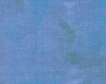 Grunge Basics Heritage Blue by BasicGrey for Moda Fabrics, 100% Premium Cotton by the Yard