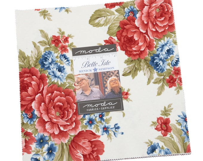"""Belle Isle Layer Cake (40 - 10"""" x 10"""" Squares) designed by Minick & Simpson"""