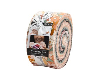 """Kitty Corn Jelly Roll (40 - 2 1/2"""" x WOF Strips) designed by Urban Chiks"""