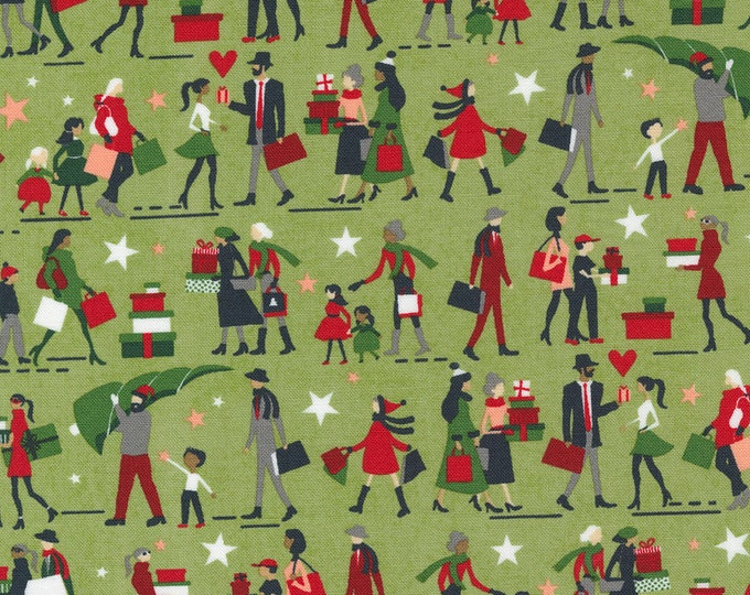 Hustle and Bustle Pear (30661 16) designed by BasicGrey for Moda