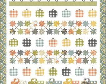 "Cozy Up Roadside Harvest Pattern, 72"" x 80"" designed by Corey Yoder"
