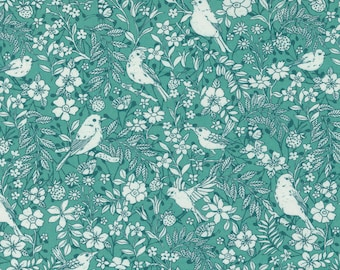 Lady Bird Teal (11873 14) designed by Crystal Manning