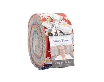 """Story Time Jelly Roll (40 2 1/2"""" x WOF Strips) designed by American Jane"""