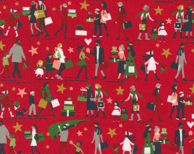 Hustle and Bustle Candy (30661 13) designed by BasicGrey for Moda