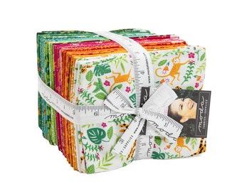 Jungle Paradise Fat Quarter Bundle, 38 skus, designed by Stacy Iest Hsu