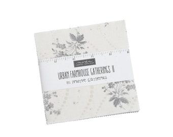 "Urban Farmhouse Gatherings II Charm Pack (40 - 5"" x 5"" Squares) designed by Lisa Bongean"