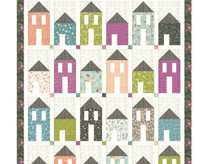 "Plaza Fat Quarter & Fat Eight Pattern, 64"" x 77"" designed by Chelsi Stratton Designs"