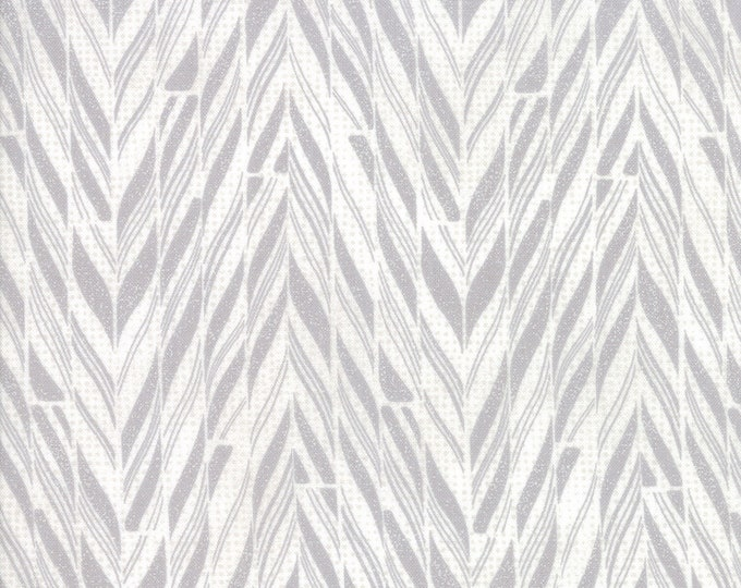 Naughty or Nice Silver Bell (30634 11) designed by BasicGrey for Moda Fabrics, 100% Cotton