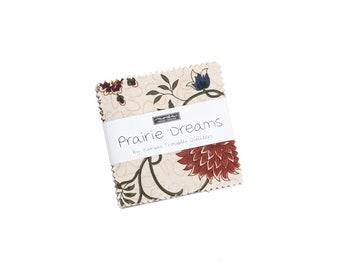 "Prairie Dreams Mini Charms (40 - 2 1/2"" x 2 1/2"" Squares) designed by Kansas Troubles"