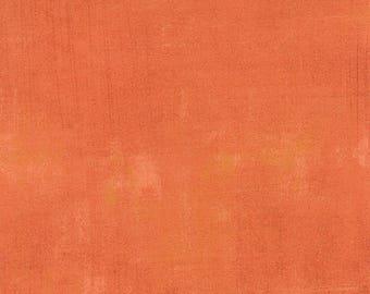 Grunge Basics Papaya designed by BasicGrey for Moda Fabrics, 100% Premium Cotton by the Yard