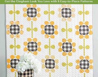 Checks Mix Quilts, 8 quilt projects with the Gingham look you love designed by Corey Yoder