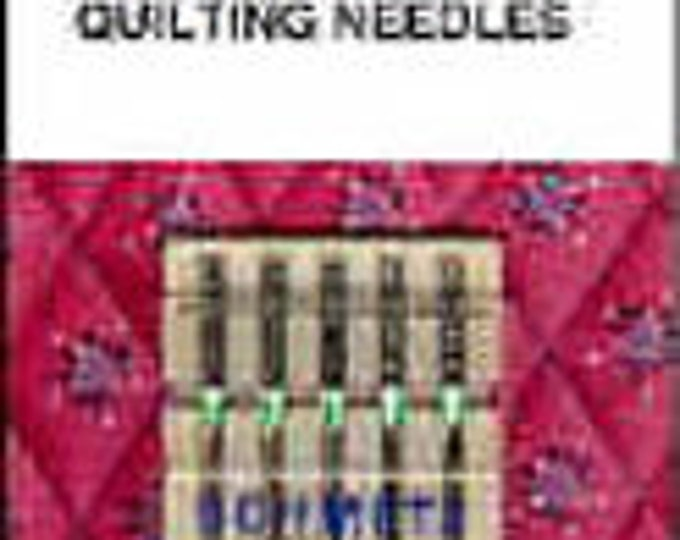 5 Quilting Needle Assorted by Schmetz, made for piecing and machine quilting