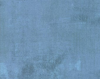 New Grunge Basics Faded Denim designed by BasicGrey for Moda Fabrics, 100% Premium Cotton by the Yard