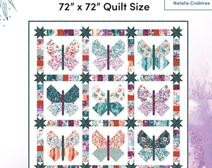 "Sunshine Soul Conservatory Garden Quilt Pattern, 73"" x 73"", designed by Create Joy Project"