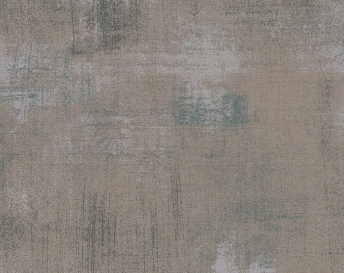 Hustle and Bustle Grunge Basics Grey Couture by BasicGrey for Moda Fabrics, 100% Premium Cotton by the Yard