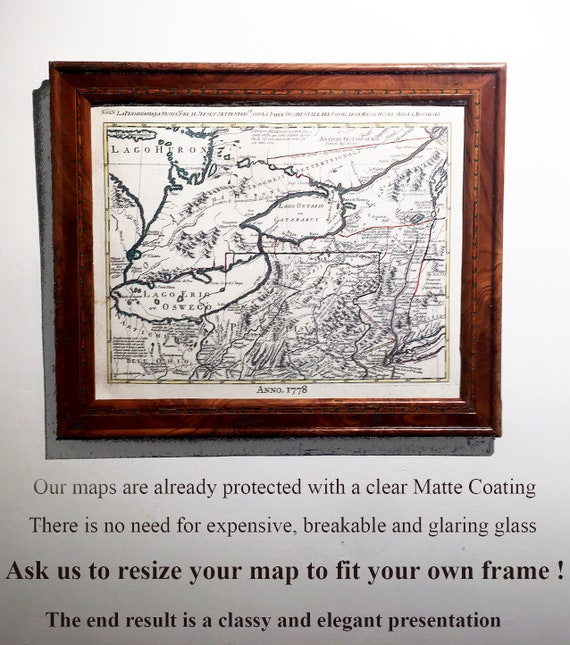 We can Size your canvas to fit an Existing Frame, no glass required!