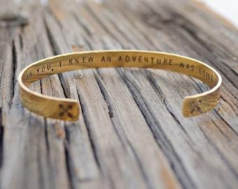 Best friend Bracelet / Friendship Bracelet / Best Friend Gift/ Personalized Gift / personalized jewelry / BFF gift  / Stocking stuffer
