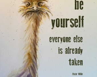 Be Yourself Everyone Else Funny Quote Funny Sayings Etsy