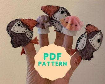 Puffin and muffin downloadable pdf pattern