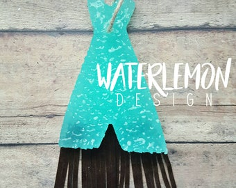 Teepee with fringe Air Freshener, Car Scent, Air Freshener, Aroma Bead Scents, Car Ornie, Car Candles, Car Freshie, Car Ornament, Hangie