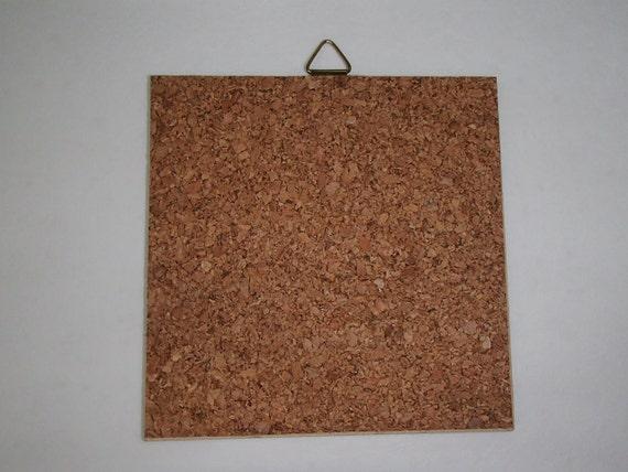 Ceramic Cork Back Tile Trivet Hot Pad Swedish Grandmother Mormor/'s Kitchen #1200
