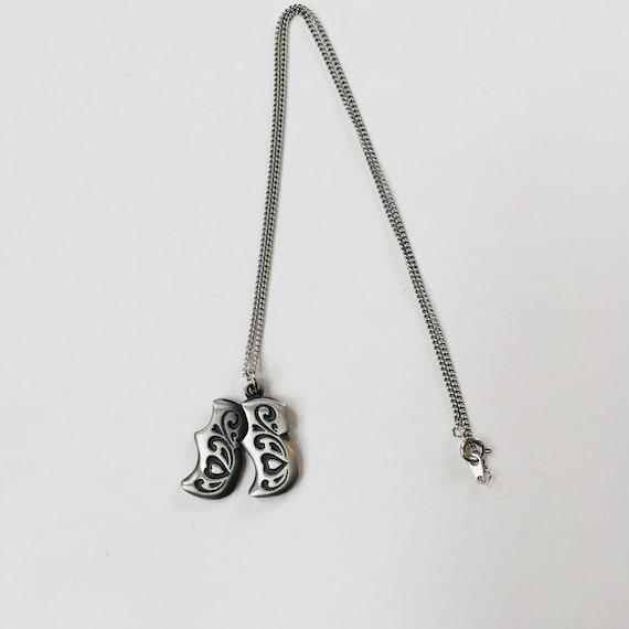 Scandinavian Swedish Pewter Bunny Rabbit Pin OR Pendant Necklace by Rune Tennesmed