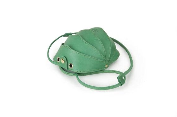 Cell Phone Bag Nude Leather Crossbody Bag Iphone Crossbody Women Crossbody Bag Cell Phone Purse Small Crossbody Bag Beetle Bag Mini Bag