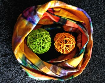 Loops and silk scarves