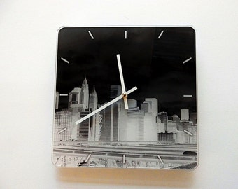 Lovely Art Watch New York Art  Pilbri Design, black and white, unique Design, Pilbri Art Print
