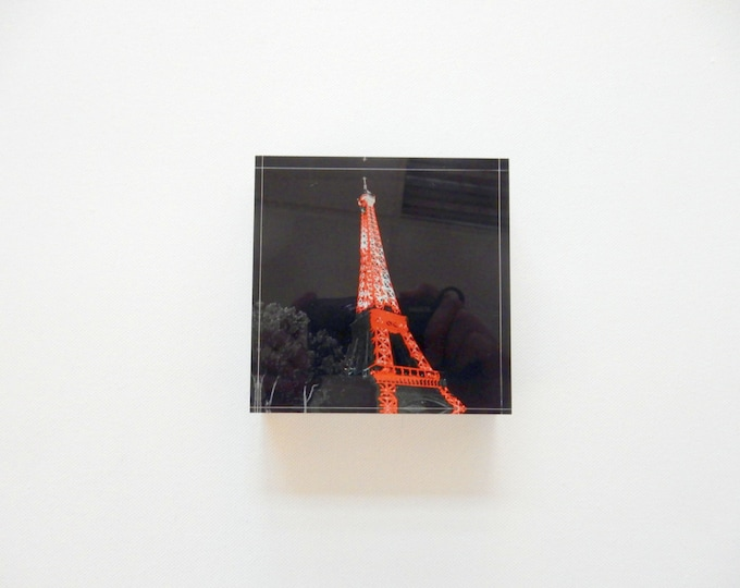 "Pilbri ® Mini PoP de Luxe   "" Paris Art"" : Eiffelturm from the series CityViews"