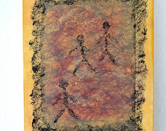 Walking 2 Original Pilbri Kunstwerk