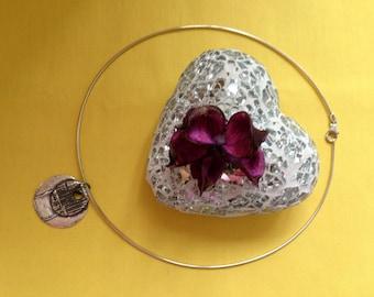 Silberanhänger Halskette