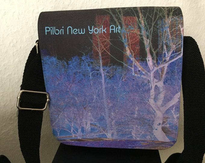 New York  Art Print handbag, Museum Size, Pilbri New York Art Print, New york lover, New york fashion design