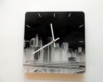 Lovely Art Watch New York Art  Pilbri Design, black and white, unique Design, Pilbri Art Print