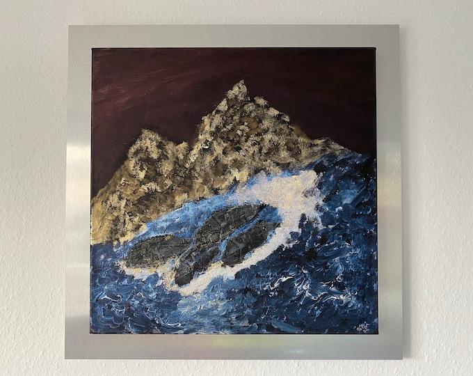 Featured listing image: River Rafting 2 Original Artwork