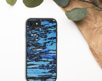 Biodegradable phone case for the Iphone