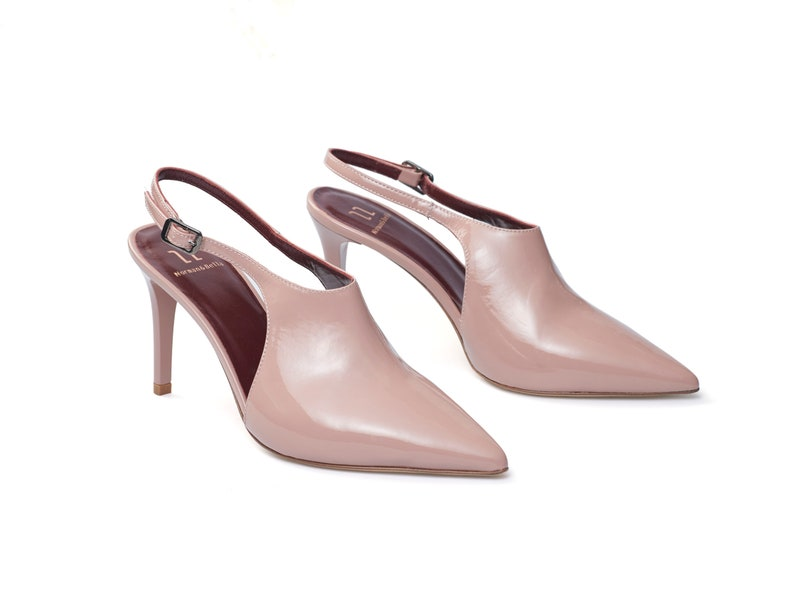 Free Shipping Nude Heels Comfortable Stilettos Heels Heeled Shoes High Heels Shoes Wedding Leather Sandals Handmade Shoes for Women