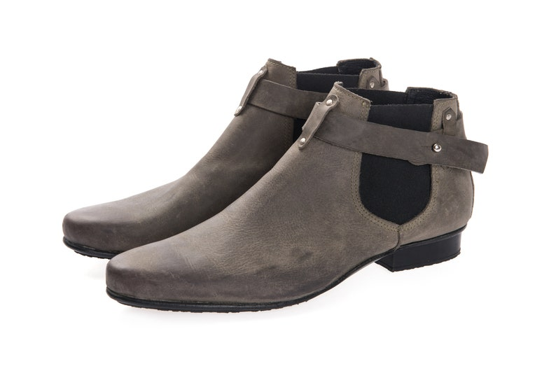 30% SALE Mens Boots  Mens Ankle Boots  Mens Handmade image 0