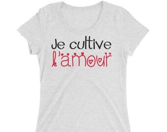 Maternity shirt | Je cultive l'amour