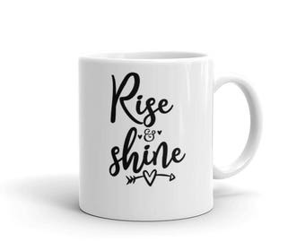 Coffee Cup. Rise and shine