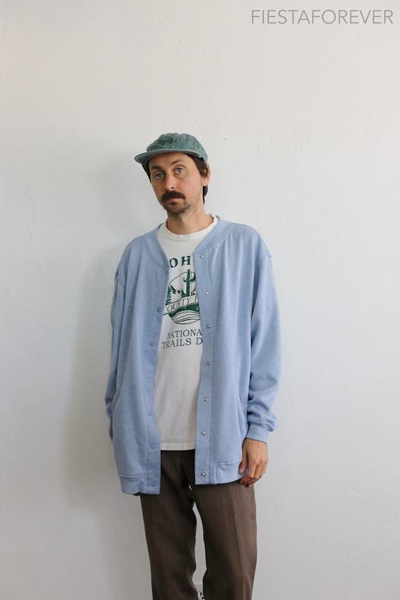 Pastel Cardigan Snap 90s Blair Oversized Sweatshir