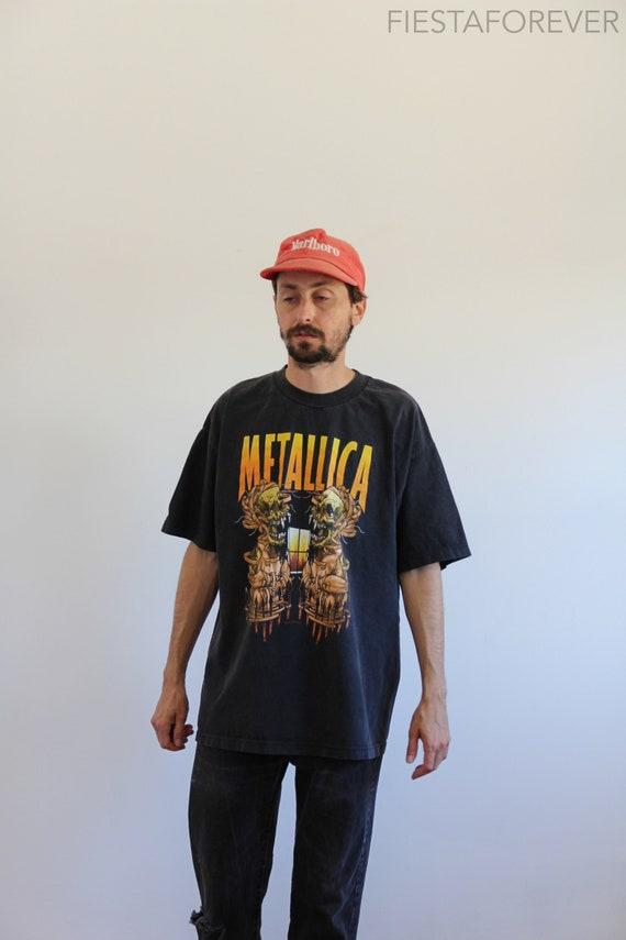 Tour Pusehead Metallica Summer Sanitarium Large Shirt dqwtga