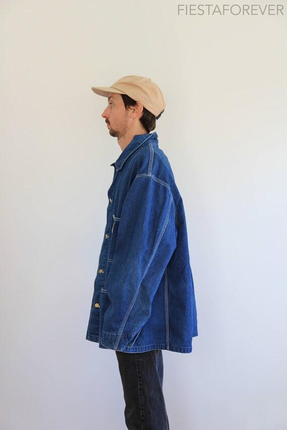 Chore Denim Carhartt Vintage Jacket 2XL Oversized S4Aqwt